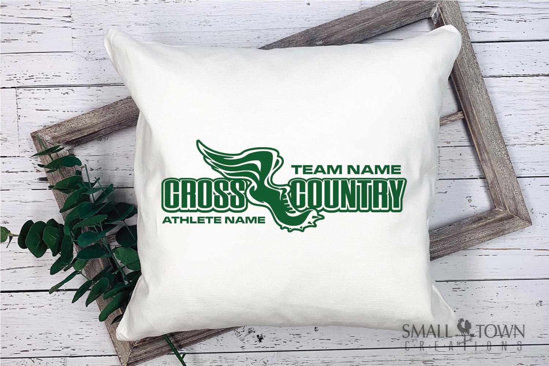 Cross Country, Team, Sports, Logo, PRINT, CUT & DESIGN example image 2