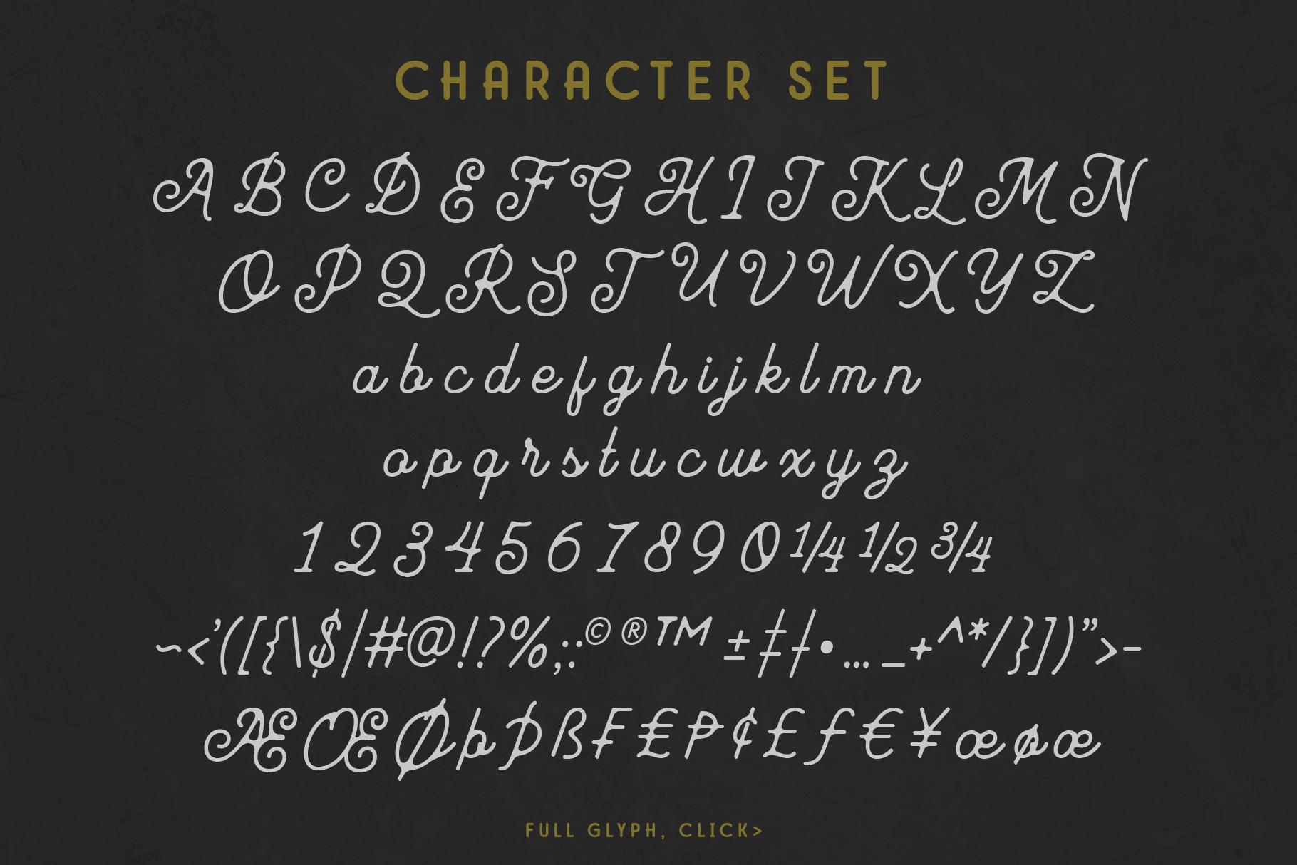 Mayhena Monoline Font example image 11