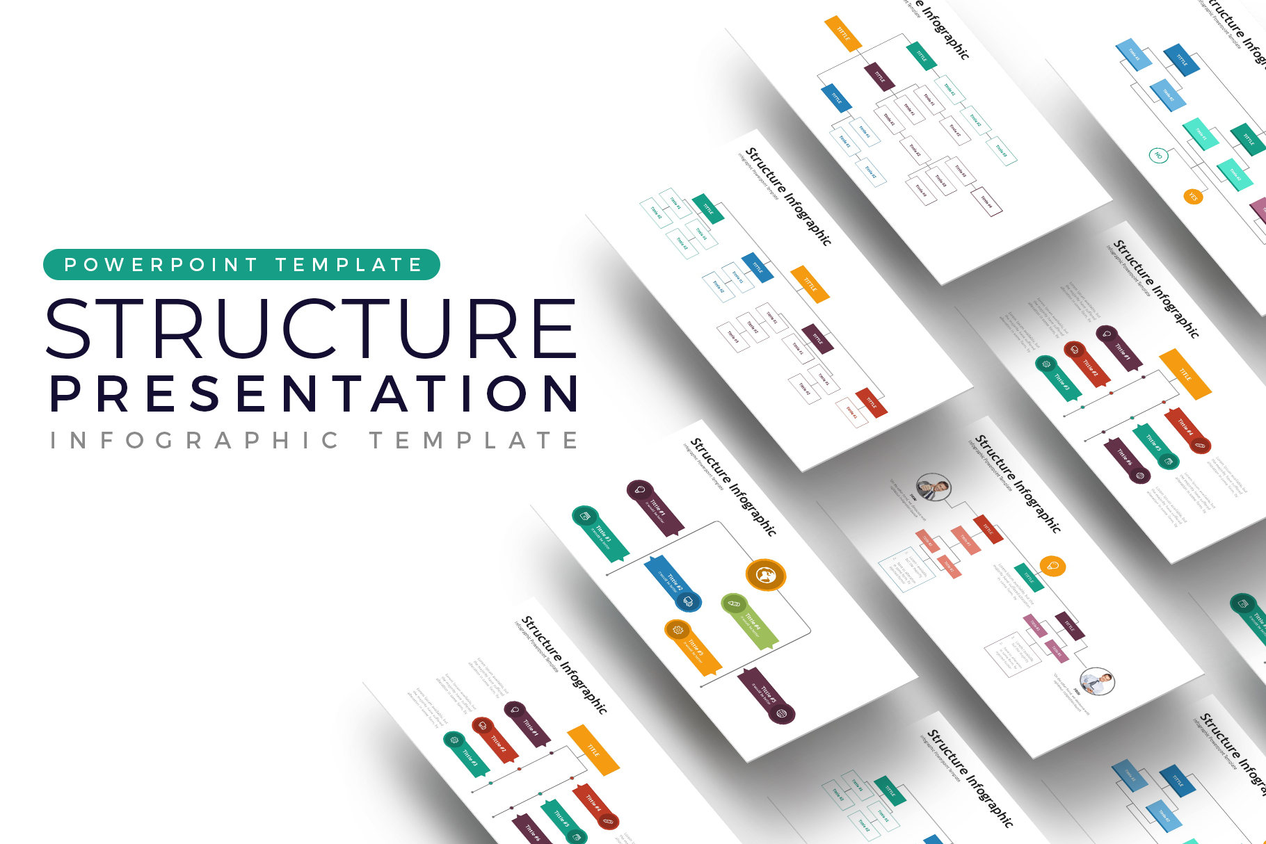 Structure Presentation - Infographic Template example image 1