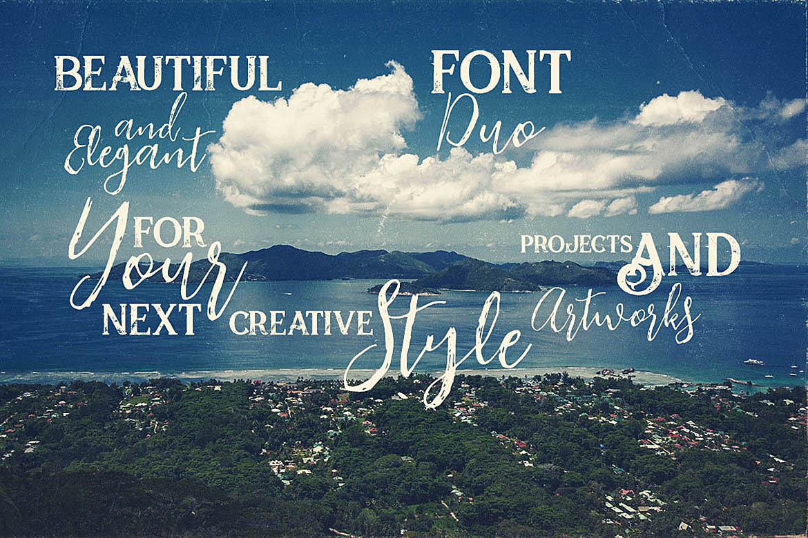 Insightly Font Duo example image 3