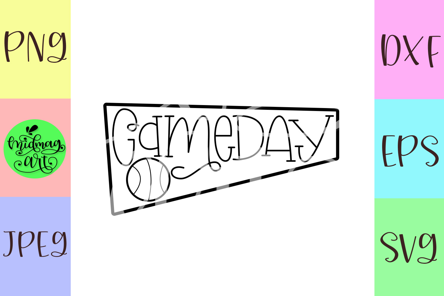 Gameday svg, basketball svg example image 2
