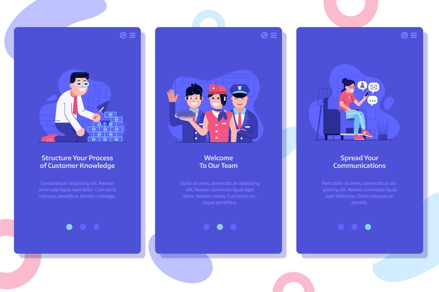 Web Marketing People Illustrations example image 5