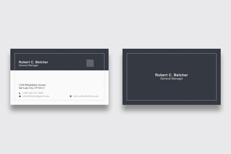 Minimal Business Card example image 1