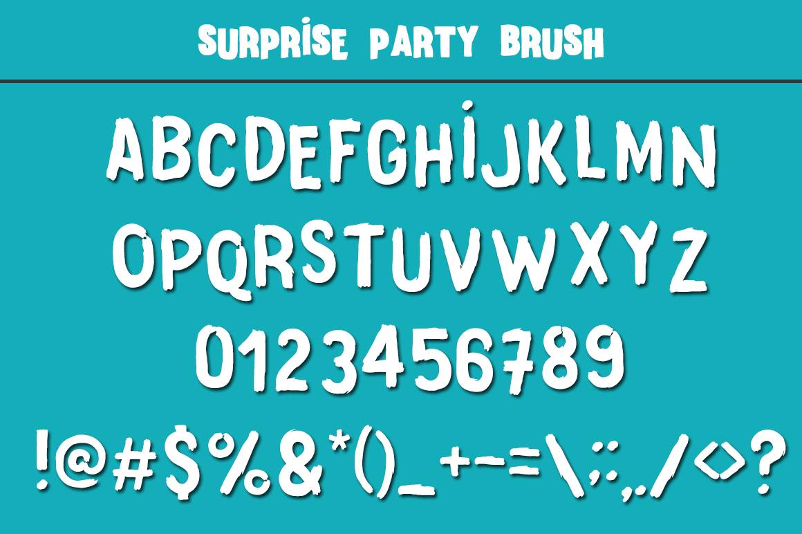 Surprise Party Font Family for Kids, Birthdays and Fun! example image 7