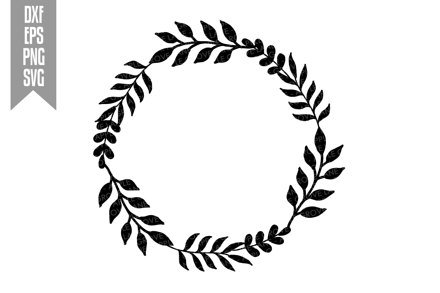 Wreath Svg Bundle - 6 designs included - Svg Cut Files example image 9