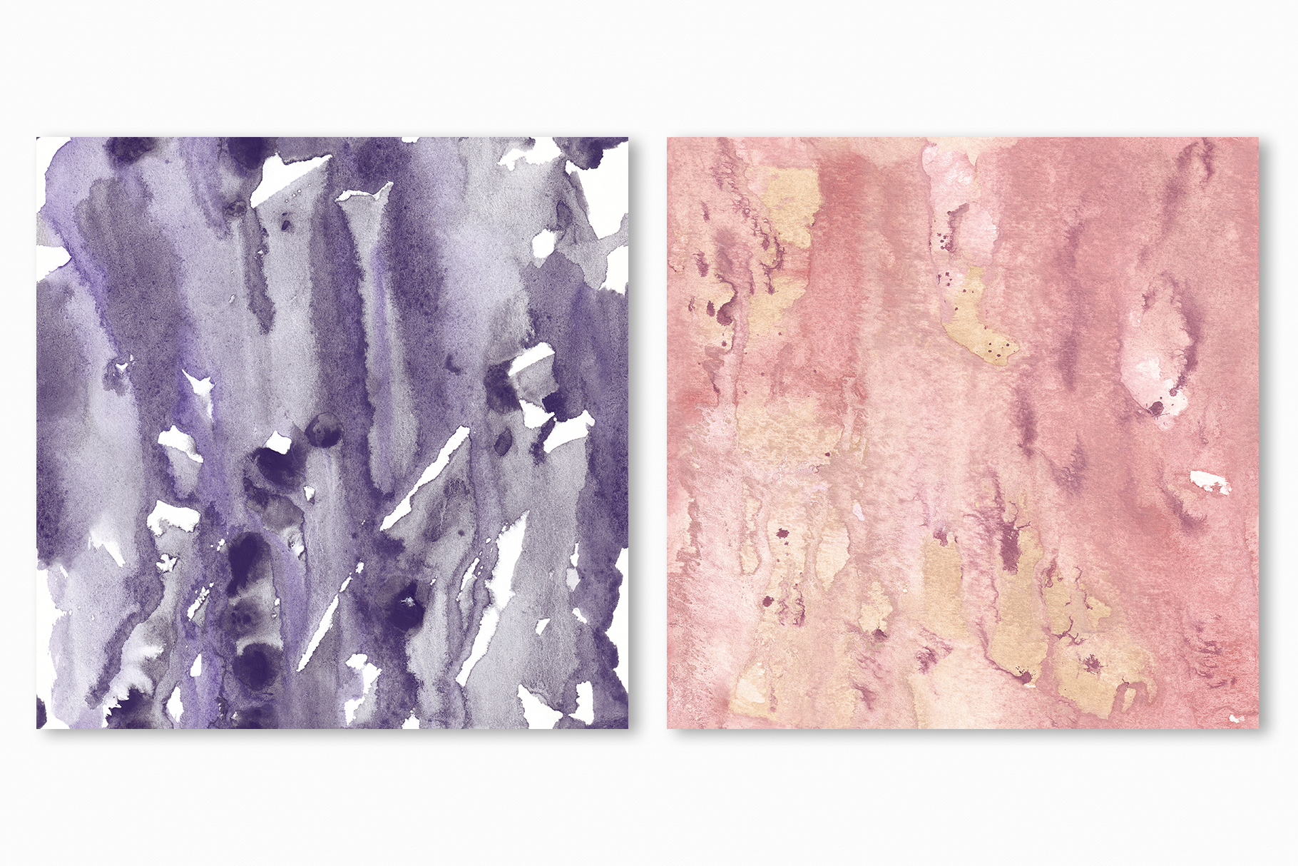 Seamless Watercolor Textures - 10 Watercolour Backgrounds example image 19