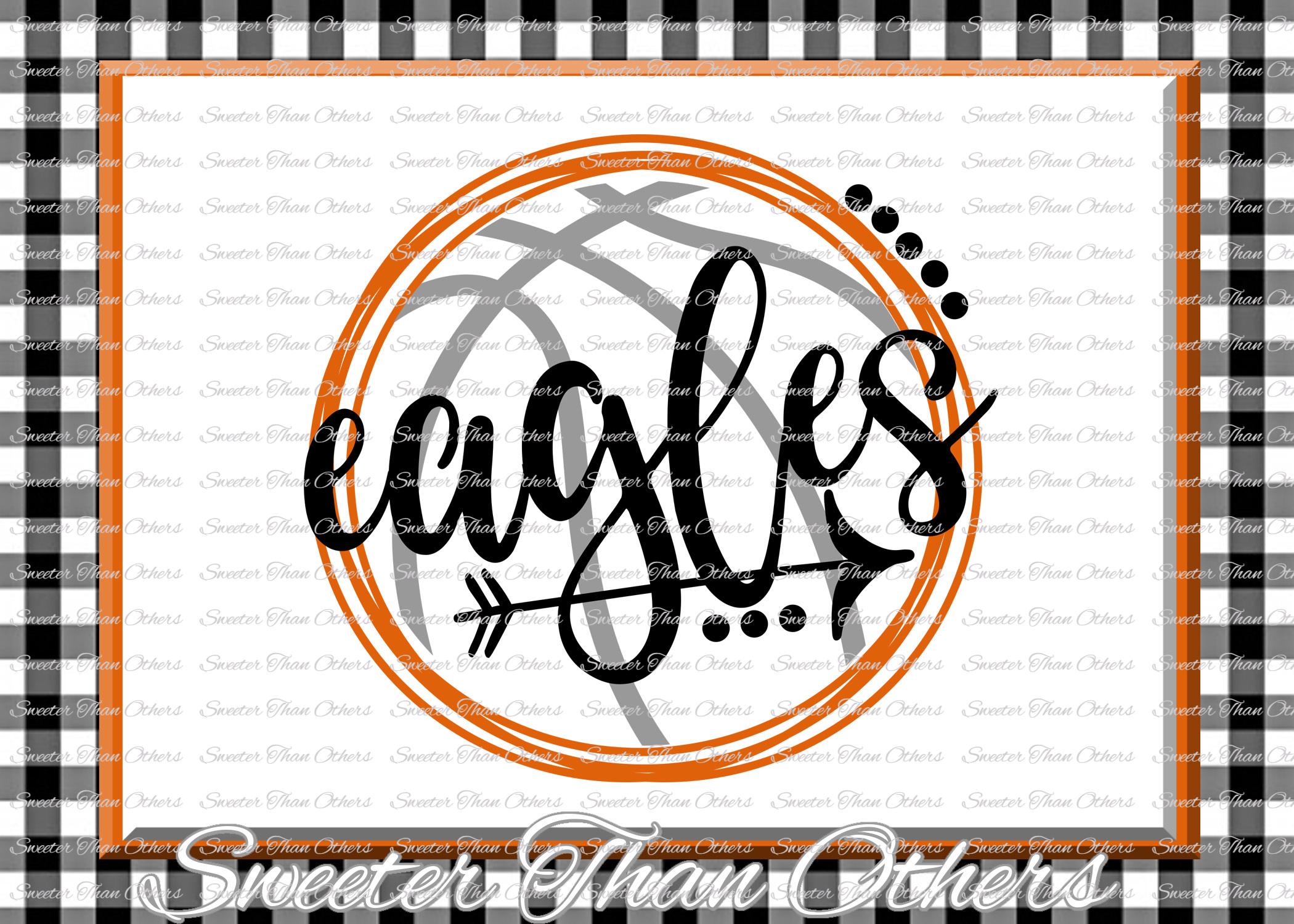 Basketball SVG, Eagles svg, Eagles Basketball svg example image 1
