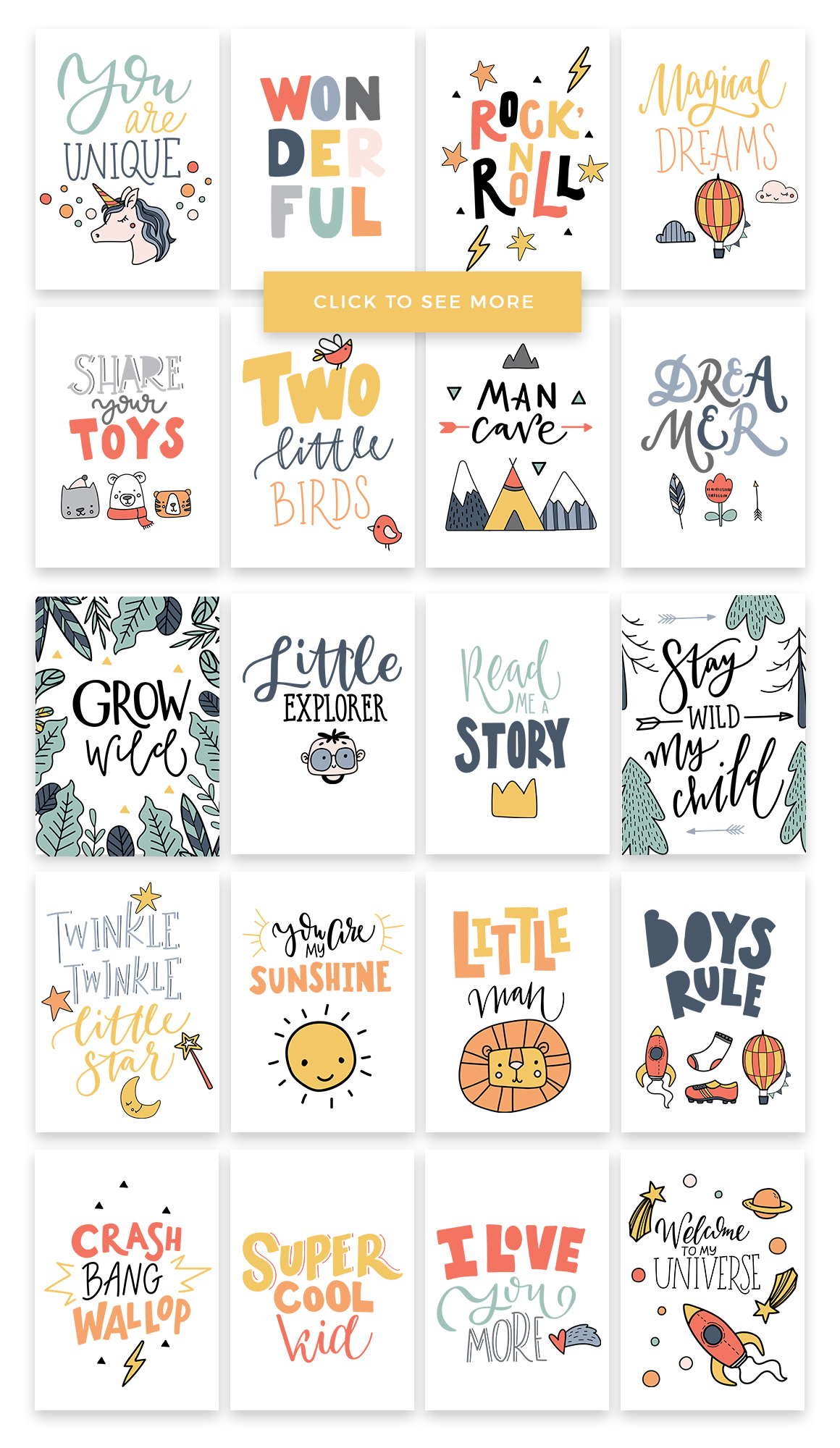 Kids room - scandinavian design pack example image 6