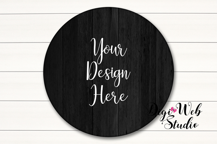 Wood Signs Mockup Bundle - 9 Piece Farmhouse Wood Signs 2 example image 2
