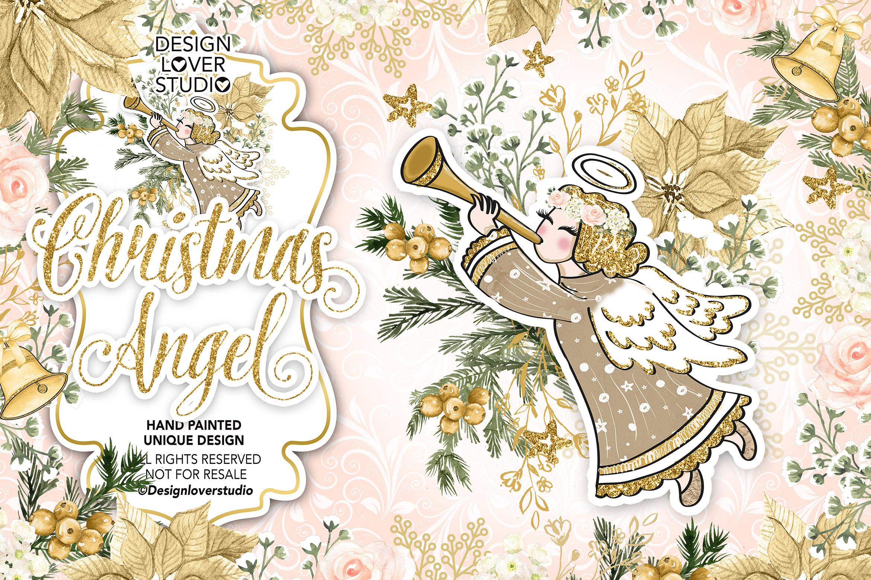 Christmas Angel design example image 1