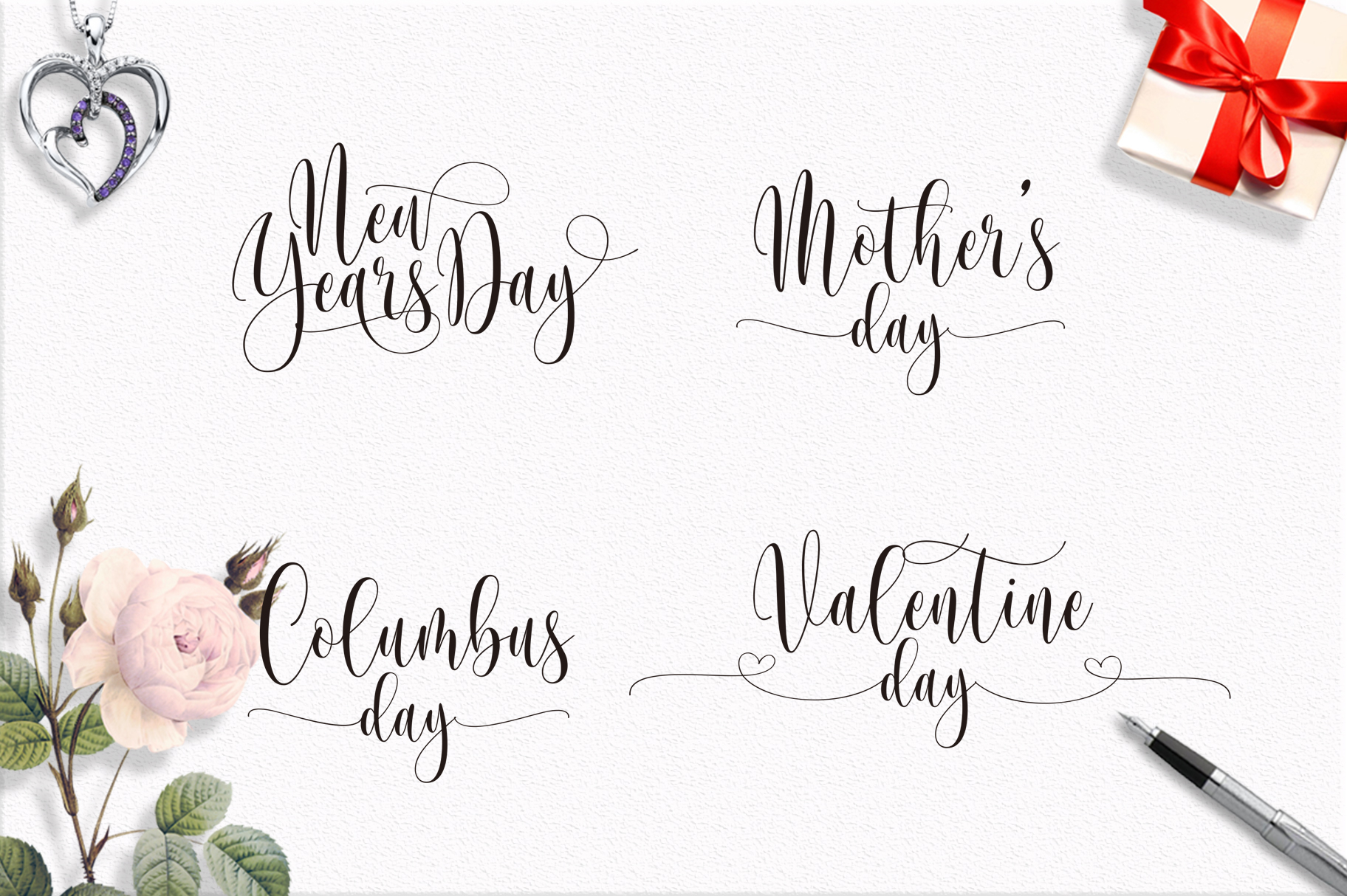Someday Script Font example image 4