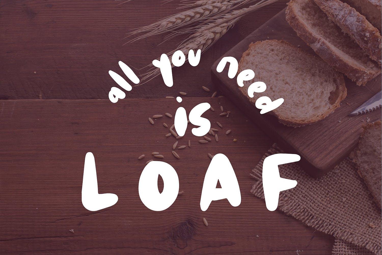 Hoagie | A fun fat brush font example image 6