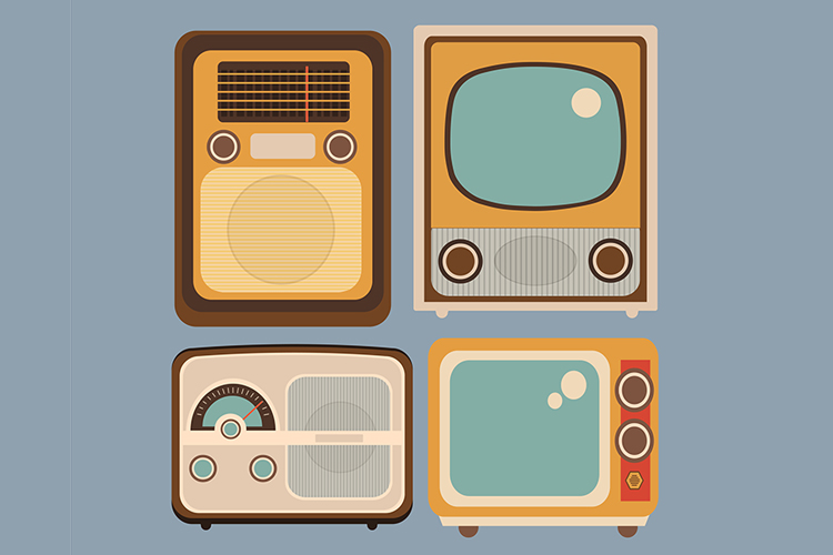 Old Radio and TV example image 1