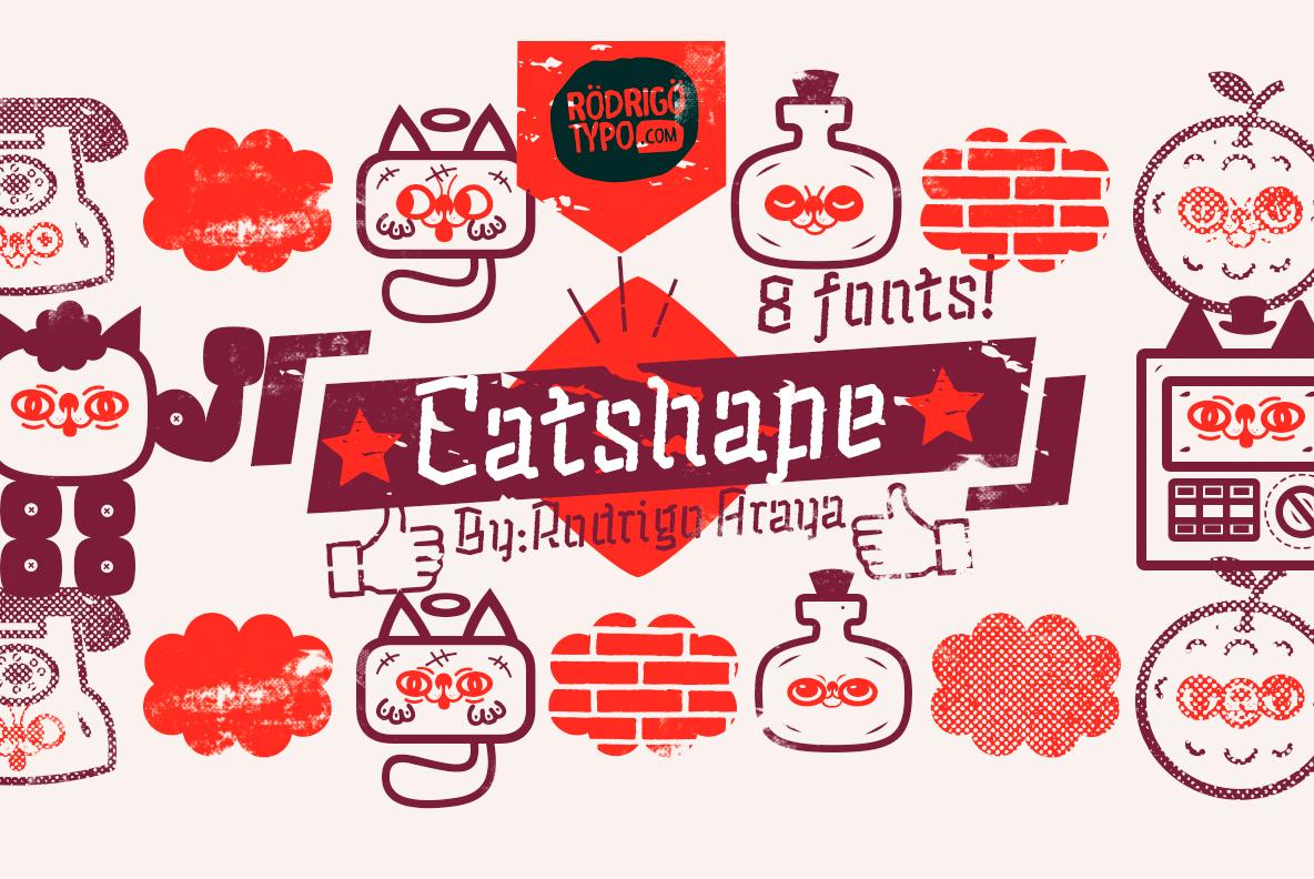 Catshape -80 Off / Fast Sale example image 13