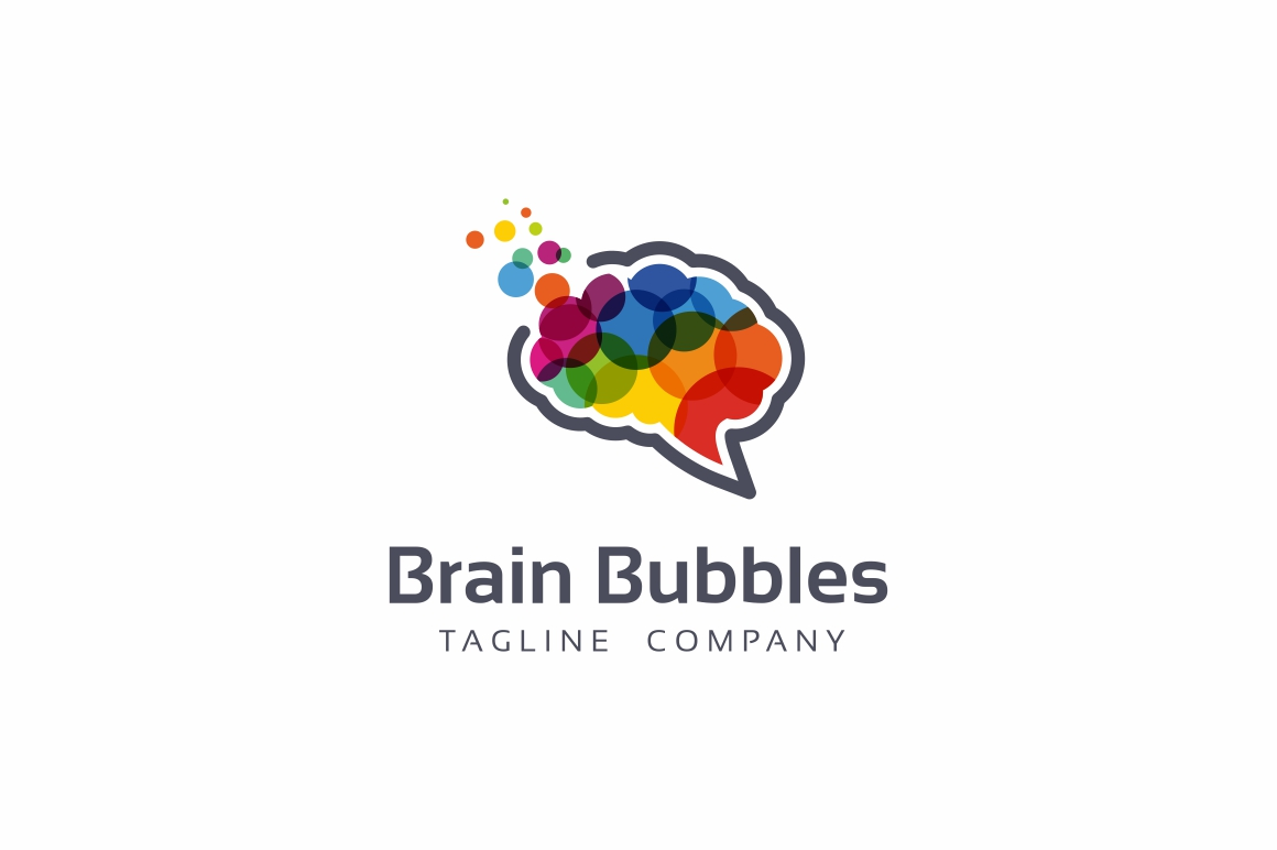 Brain Bubbles Logo example image 1