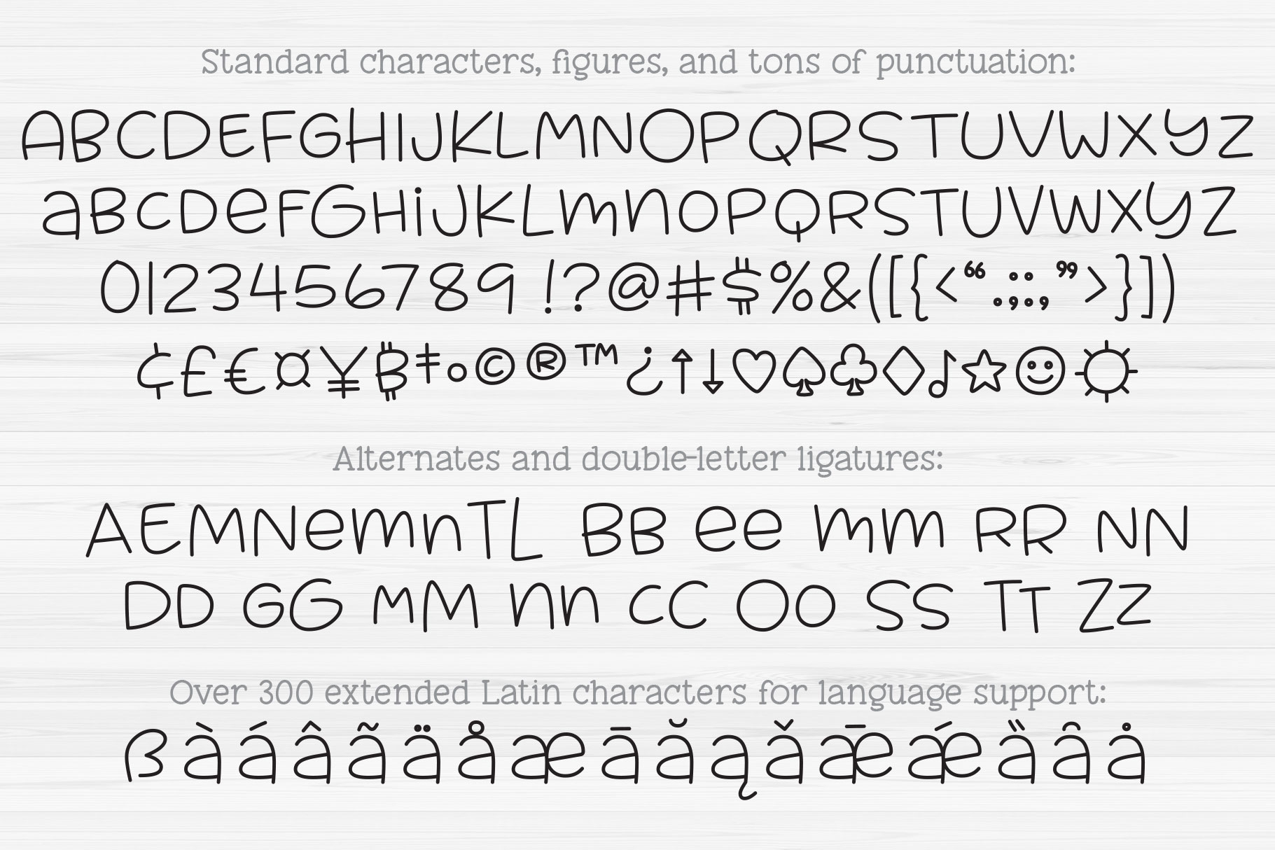 Muggsy Sketch - a quirky fun single-line hairline pen font! example image 3