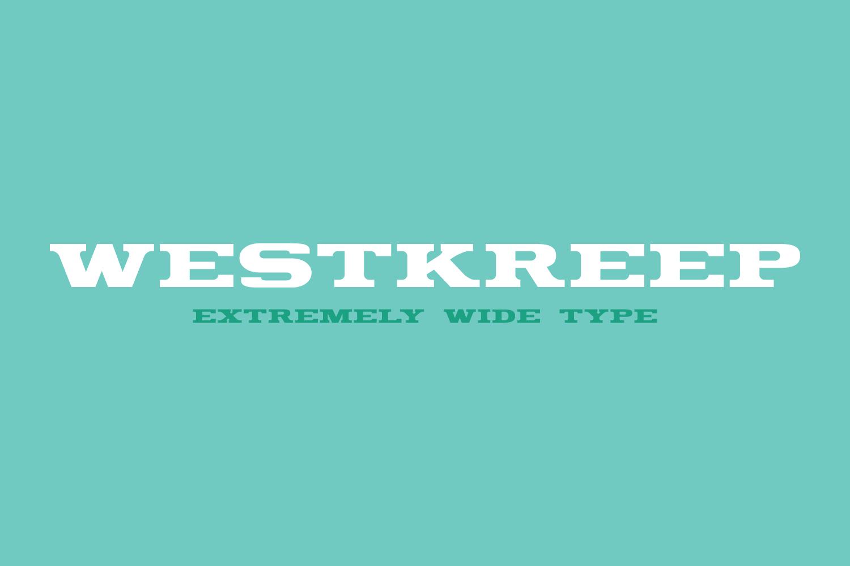 Westkreep Font example image 2