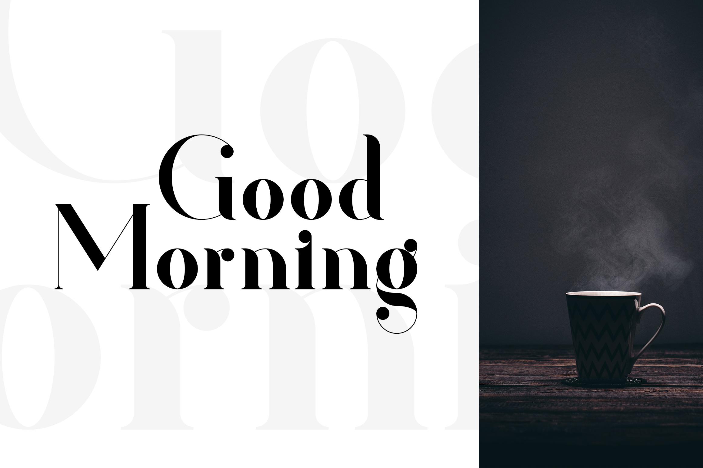 Kavaler - serif font example image 5