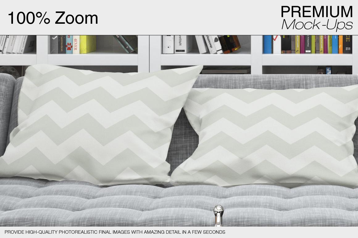 Pillows & Frames Set example image 10