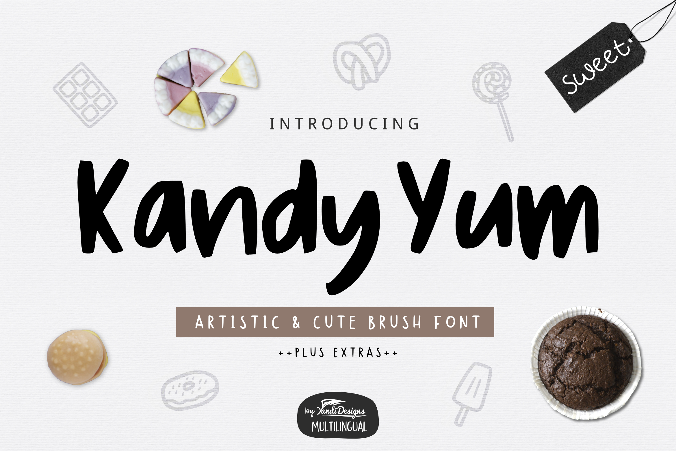 Cute Font Bundle by YandiDesigns example image 18