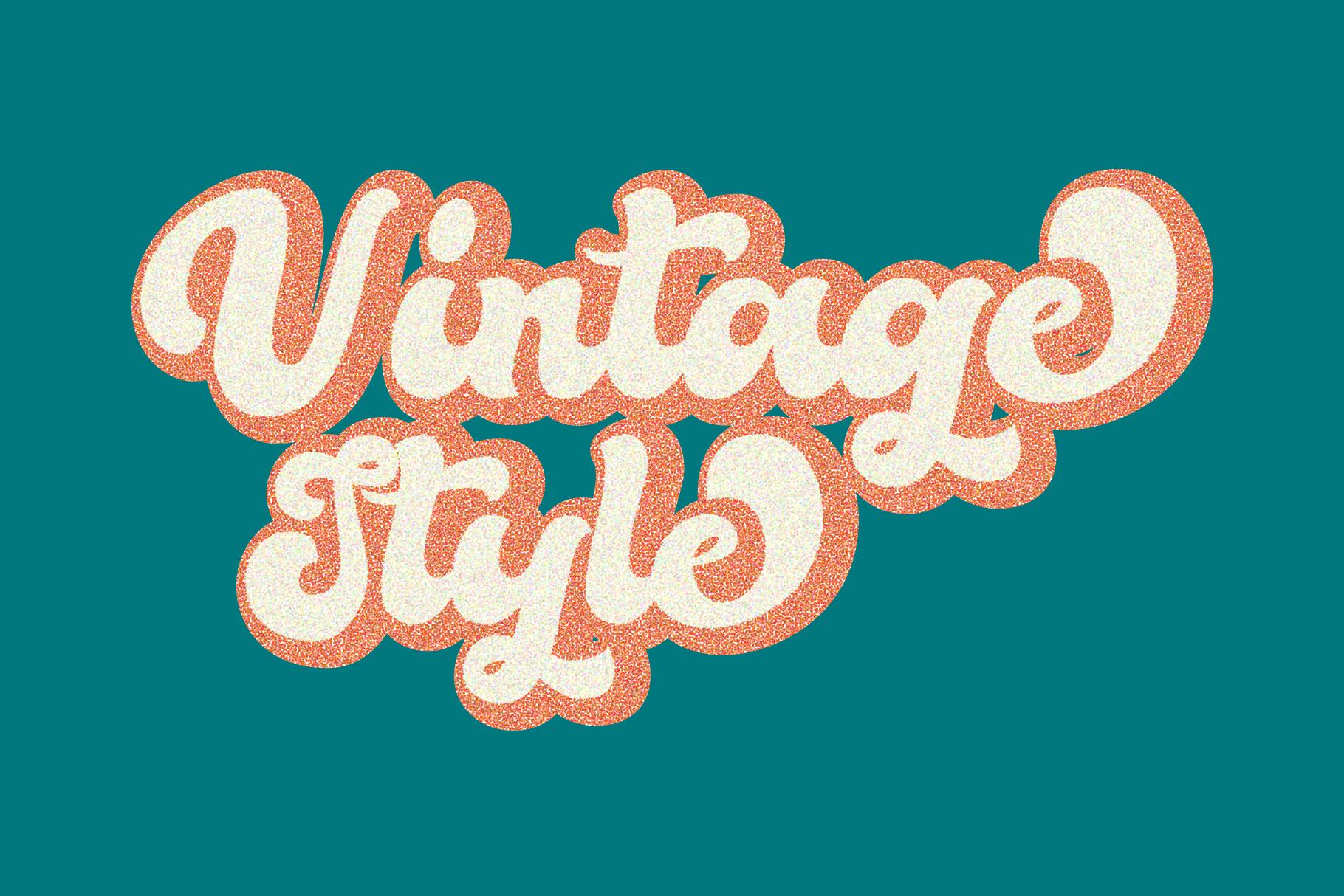Bella - Vintage Script Font example image 3
