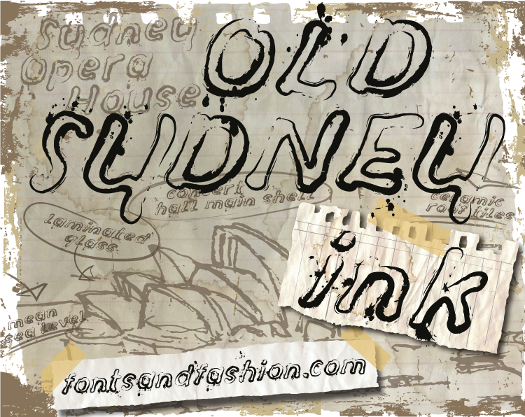 Old Sydney_Ink example image 2