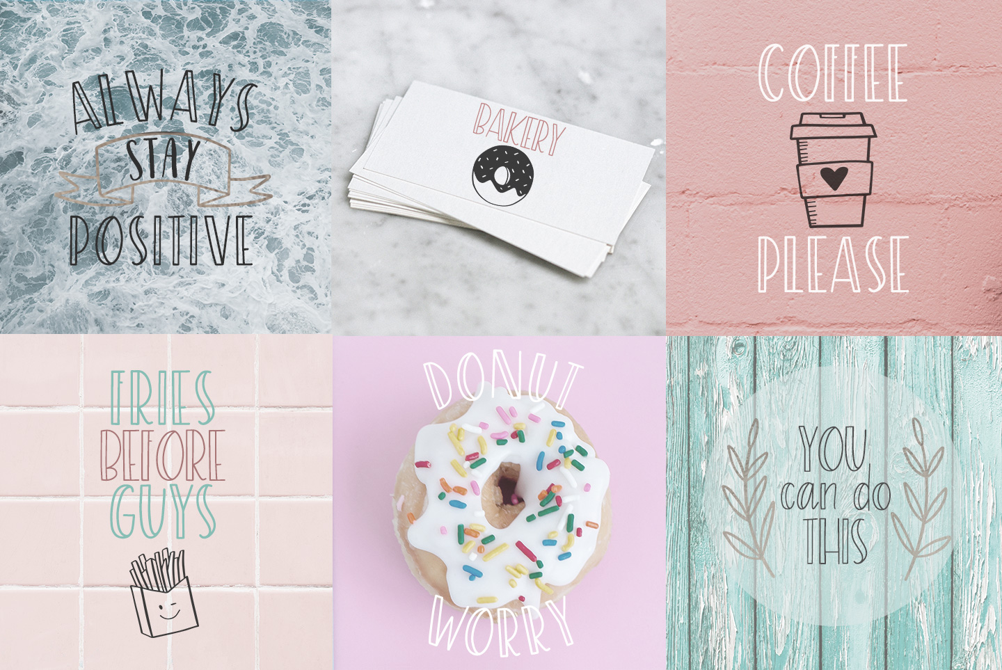 Sprinkles, A sweet and playful font example image 5