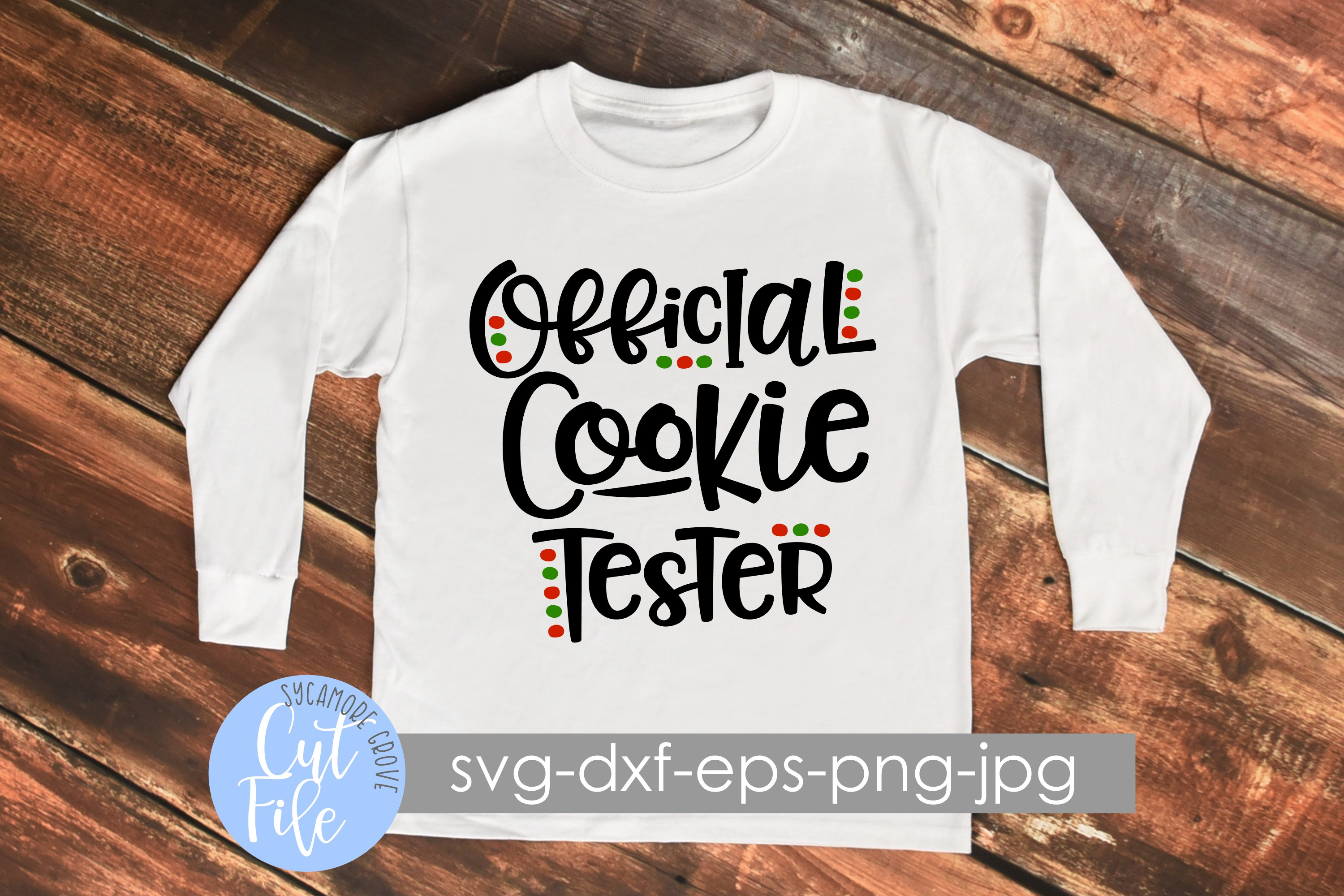 Official Cookie Tester SVG example image 1