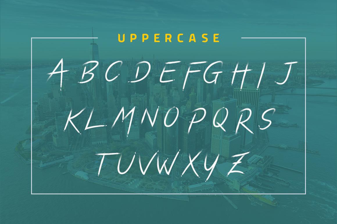 Dark Script Font example image 8