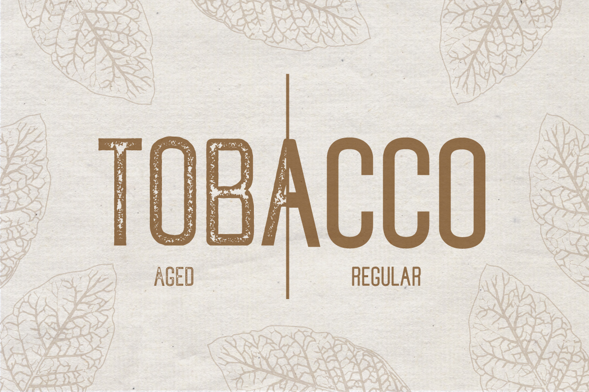 Tobacco Typeface example image 6
