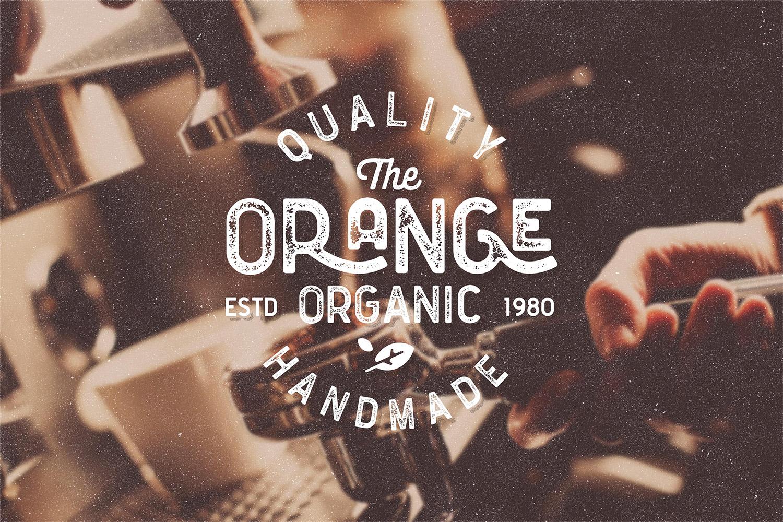 Floresto Textured Vintage Typeface example image 11
