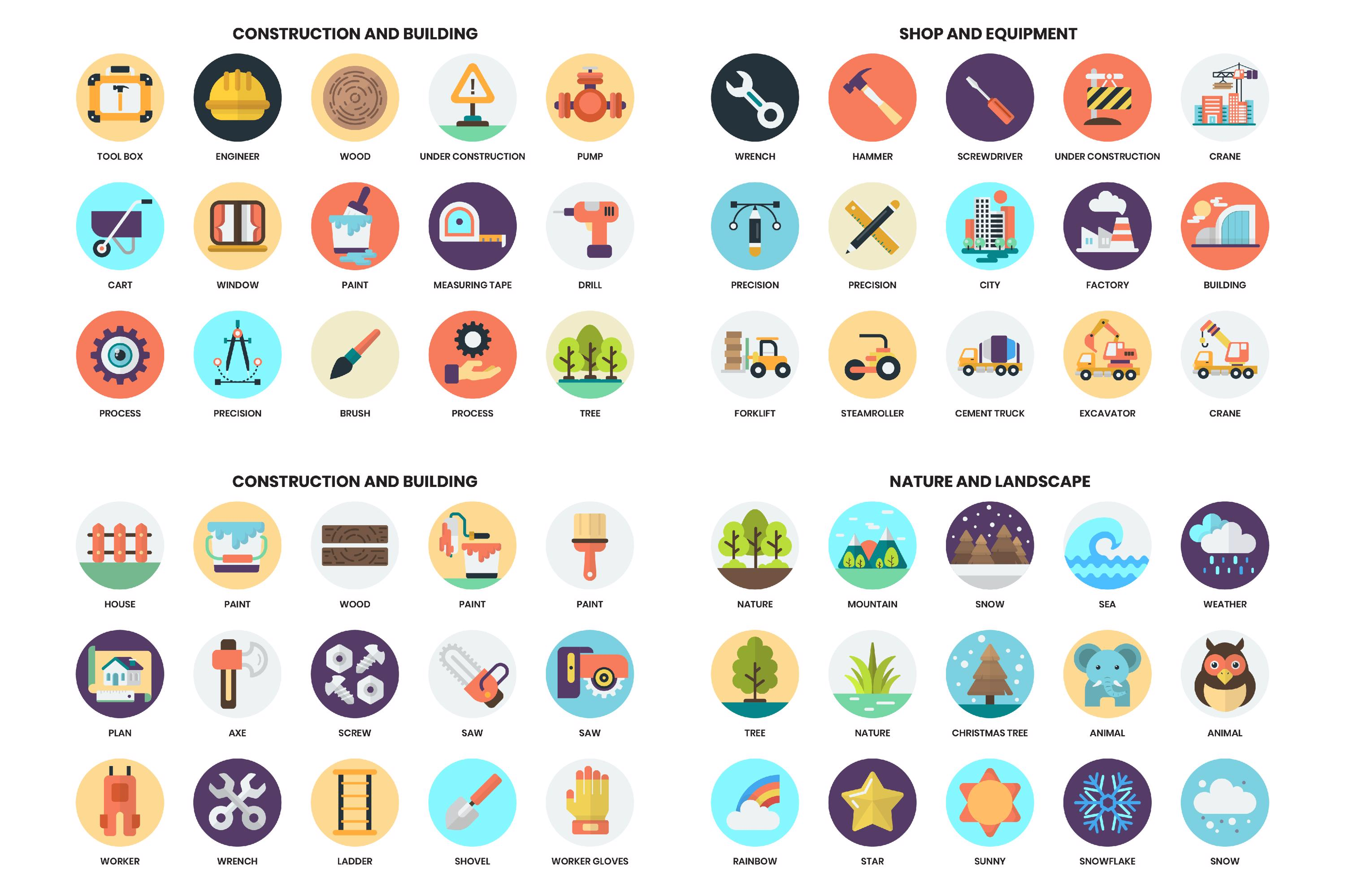 1155 PERFECT ICONS SET example image 20