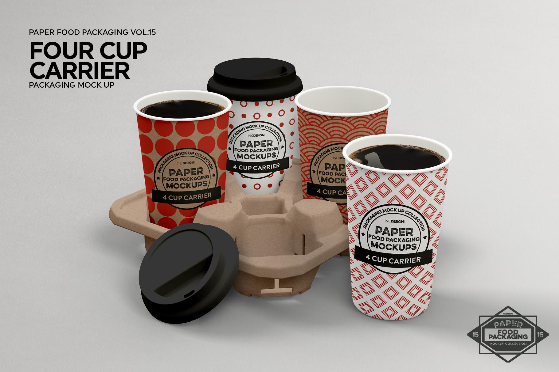 VOL.15 Food Box Packaging MockUps example image 8