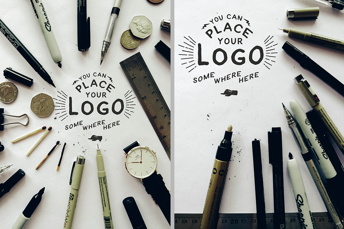 Hand Lettering Logo Mock Up example image 5