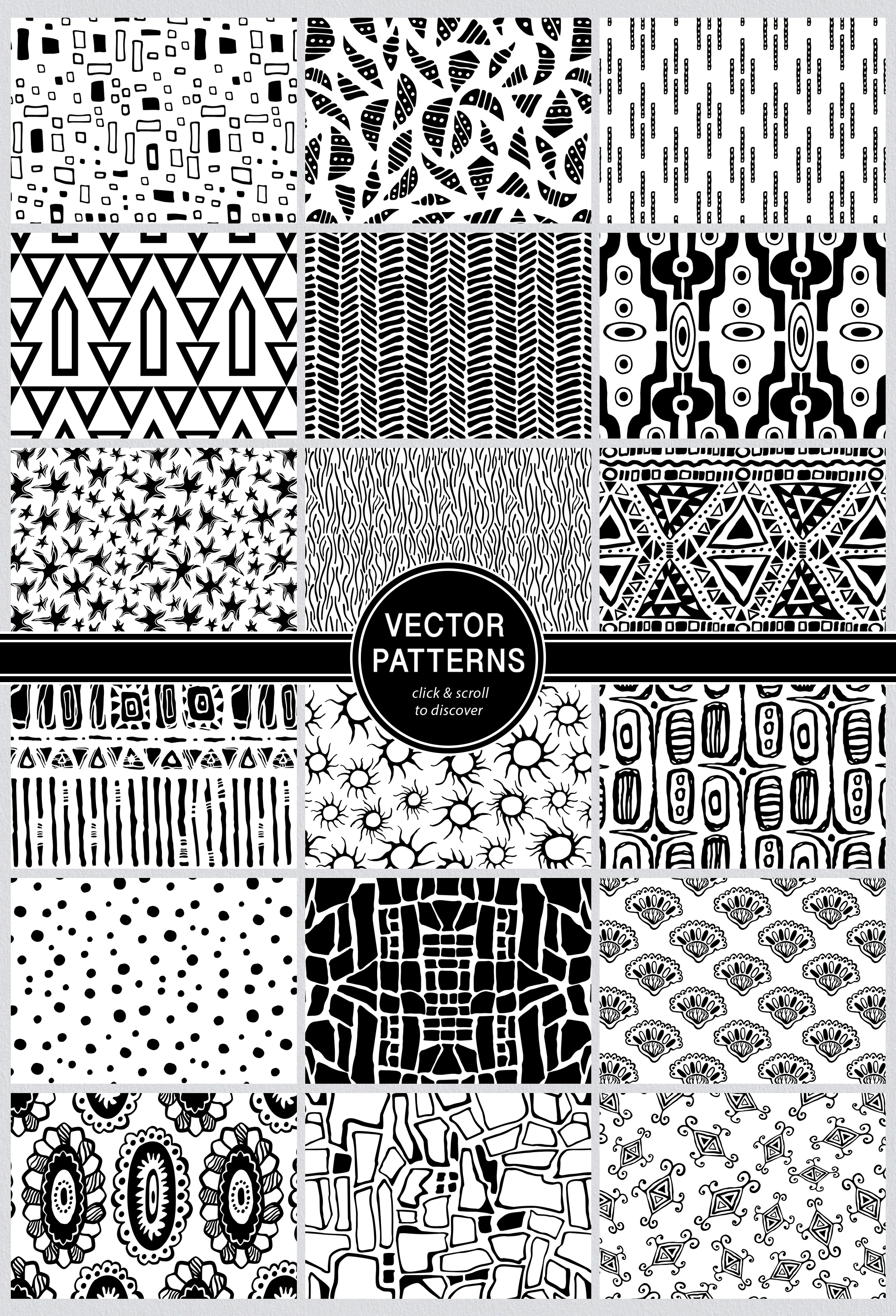 Seamless Textures & Patterns Bundle - Shabby Chic Design Kit example image 23
