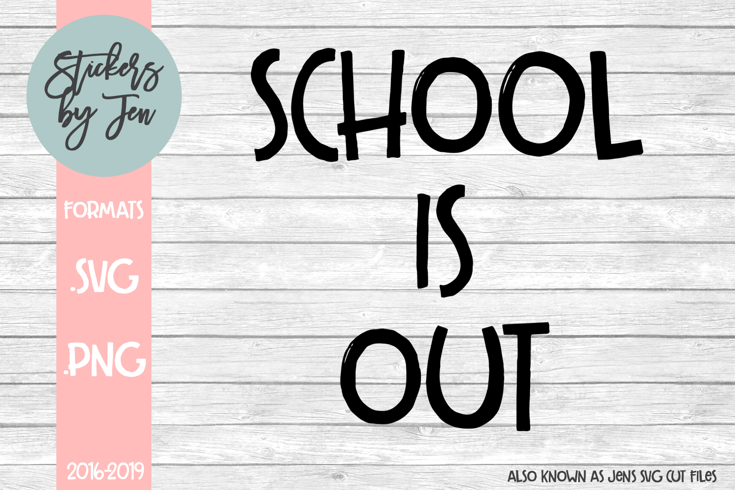 School Is Out svg cut file example image 1
