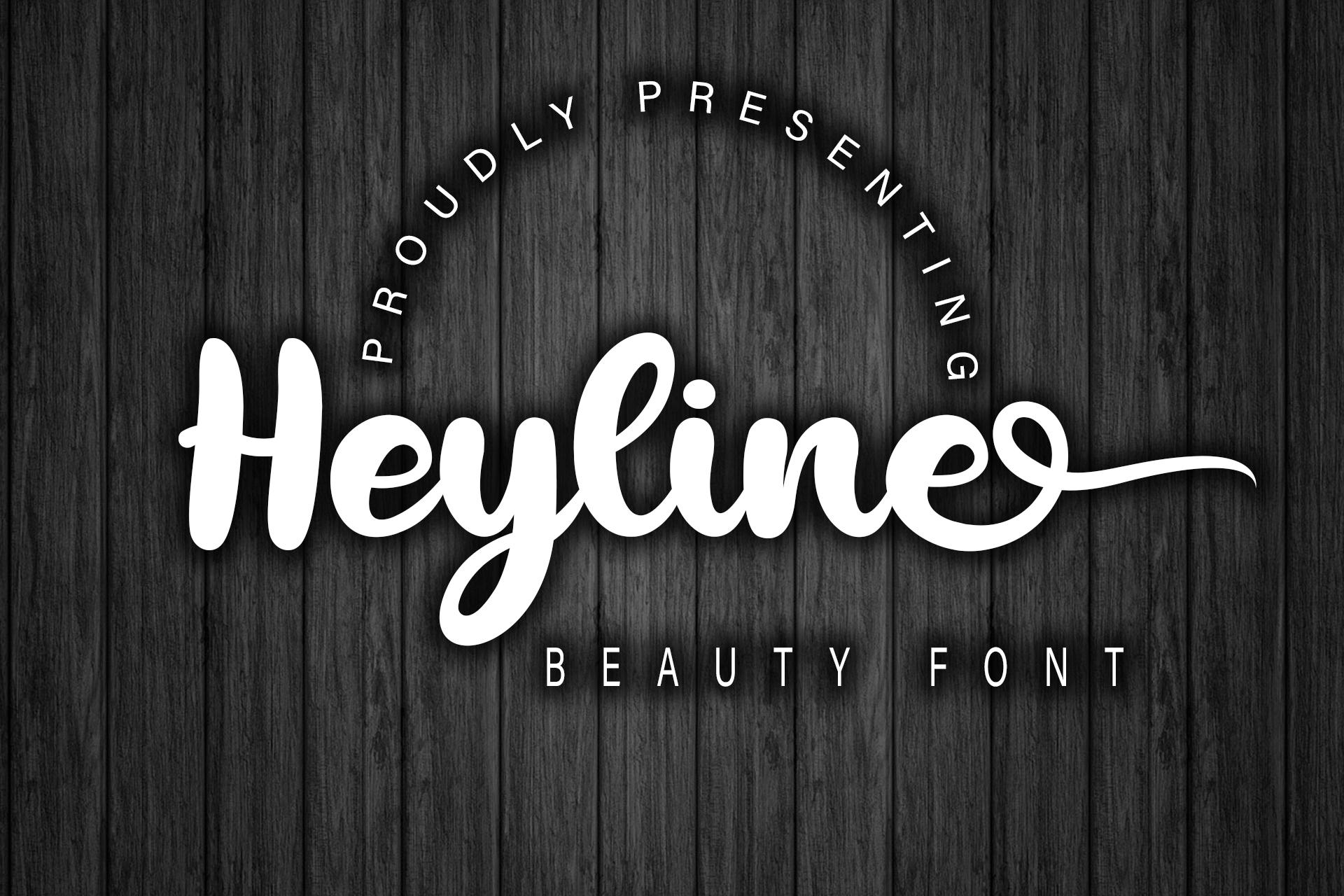 Heyline example image 1