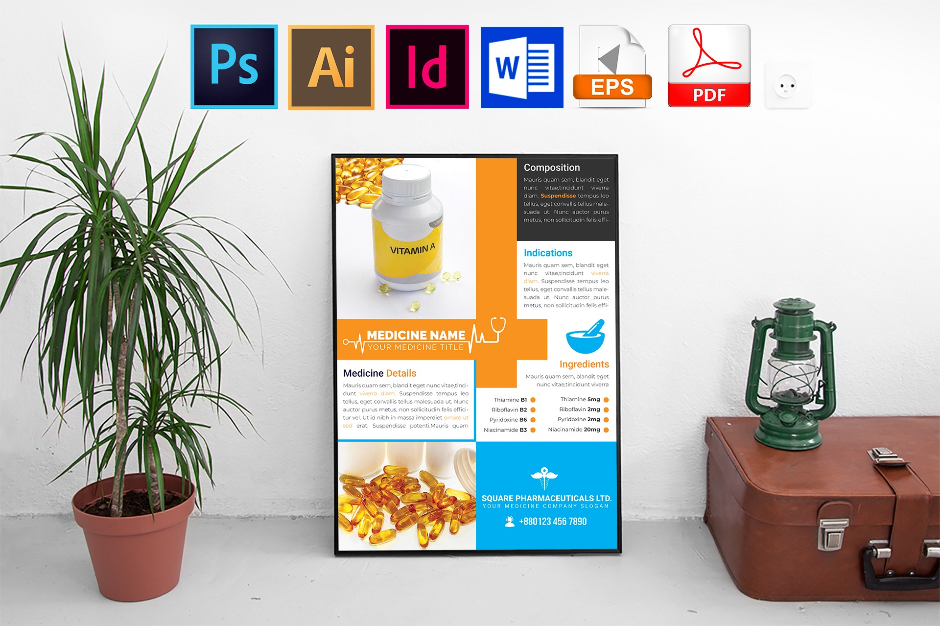 Poster | Medicine Promotional Vol-01 example image 1