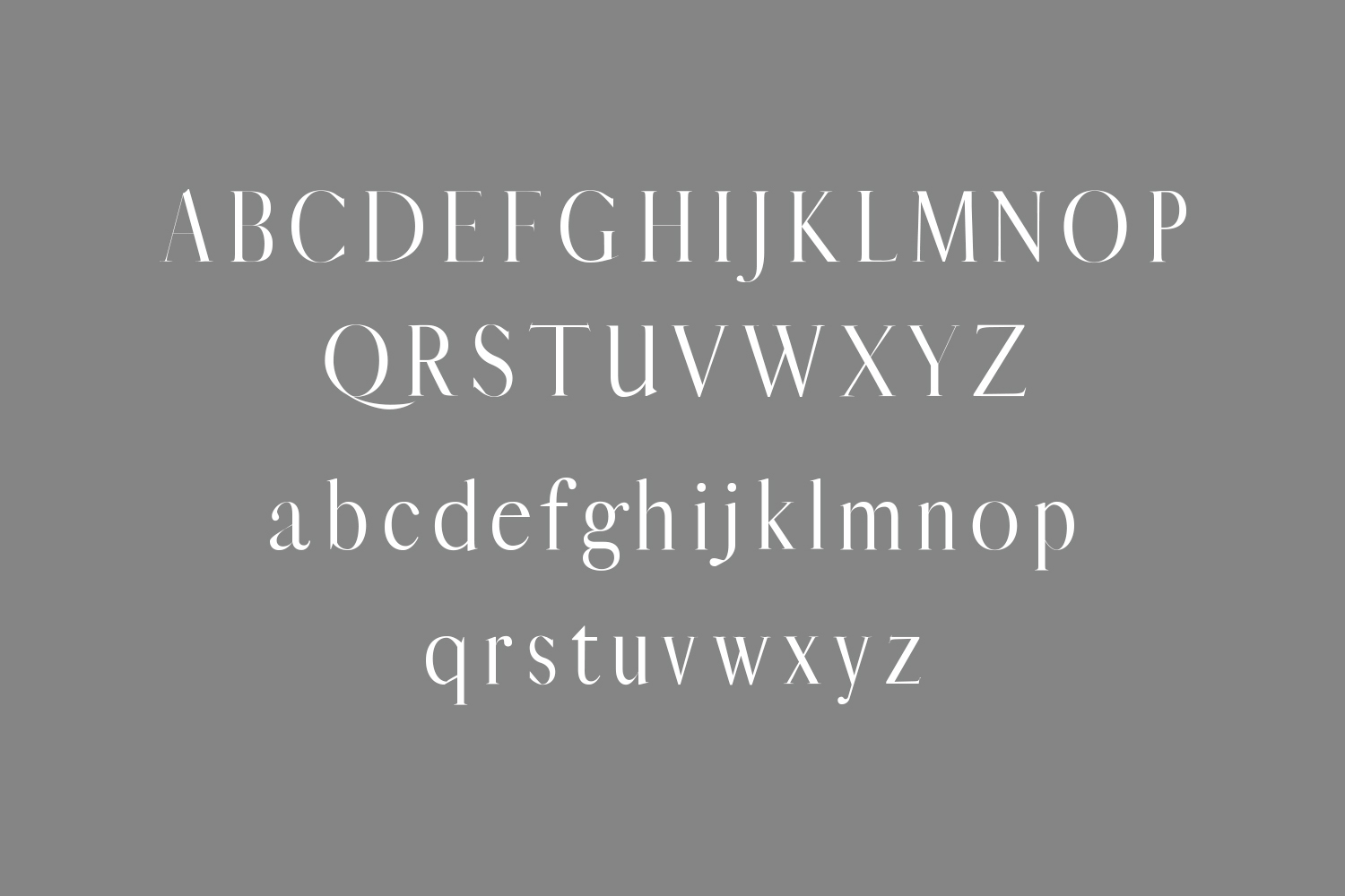 Jerrad Beautiful Serif Font Family example image 2