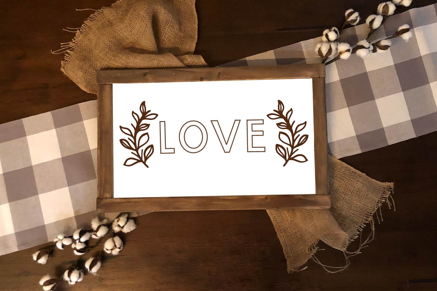 Sign Doodles - A Dingbat Font - Great For Farmhouse Signs! example image 5