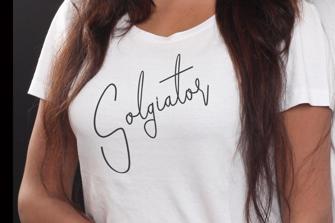 Goatherdam Font example image 5