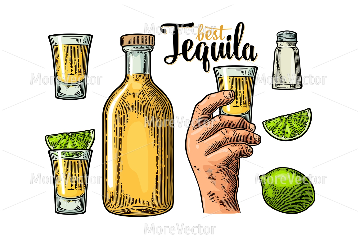 Set for tequila. example image 1