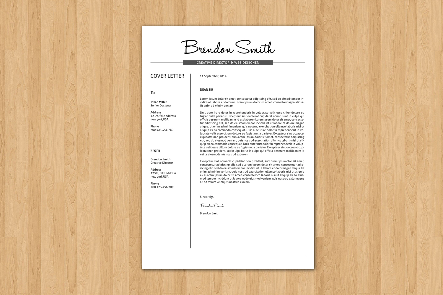 Clean & Professional Resume example image 2
