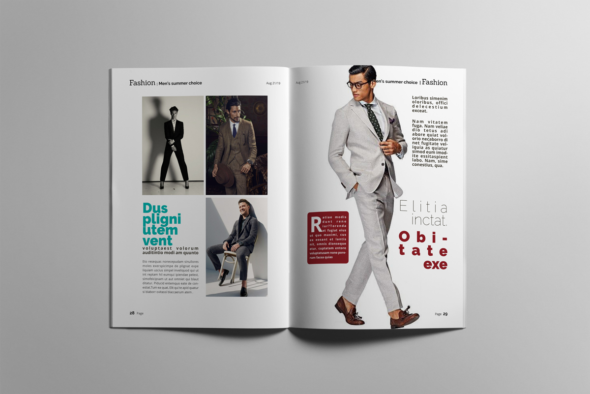 Magazine layout design example image 15