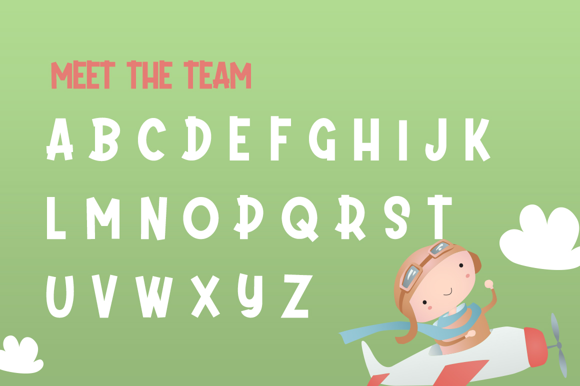 Daydream Kids Font example image 5