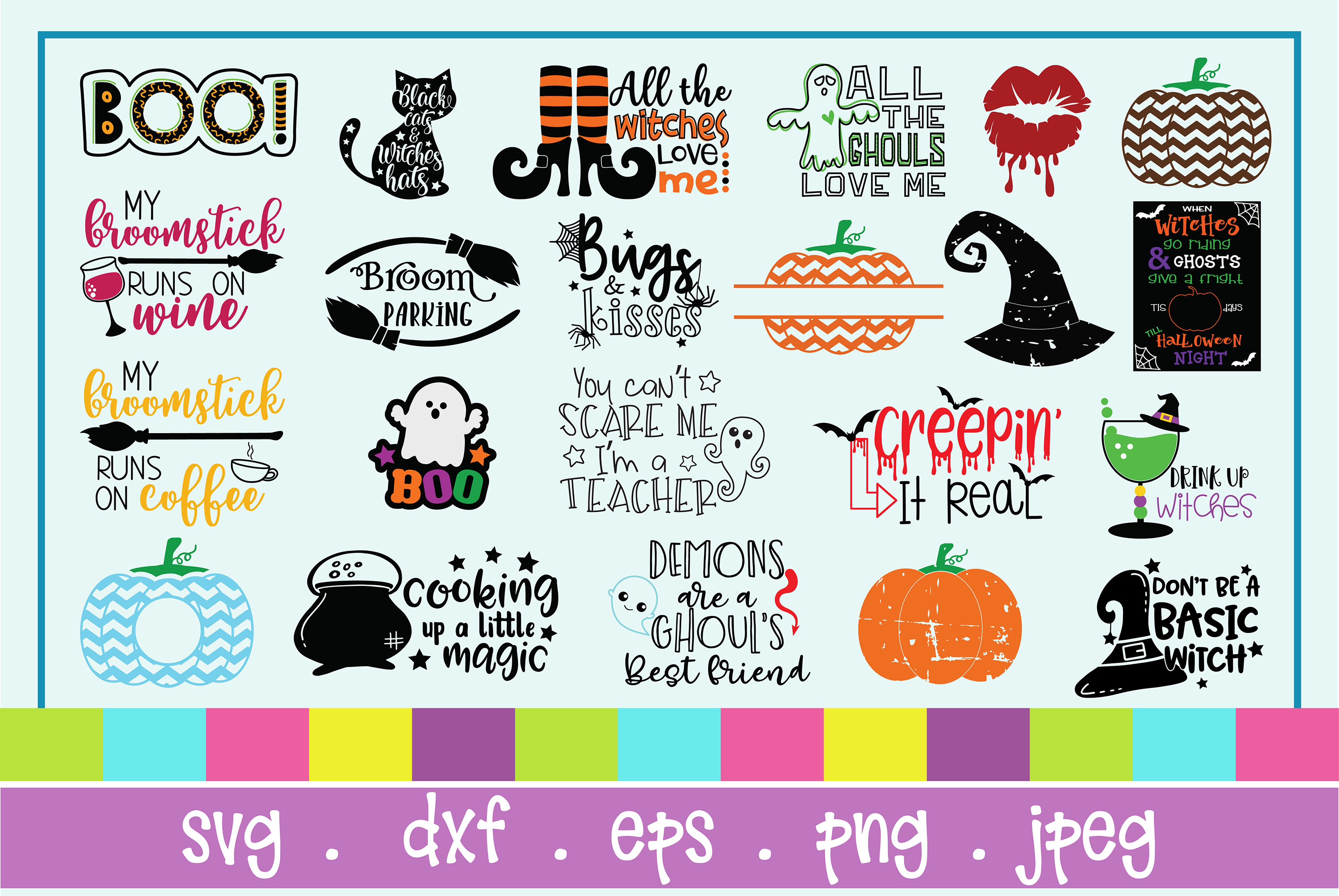 The Huge SVG Bundle Vol 2, 500 Cutting files, SVG, DXF,PNG example image 17