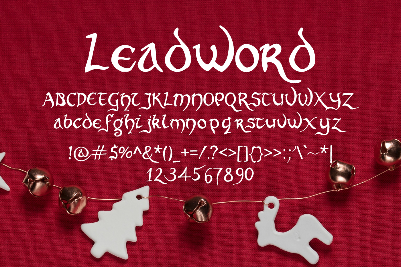 Leadword Font example image 2