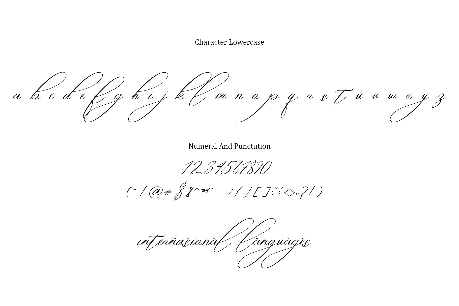 oklahoma calligraphy font example image 8