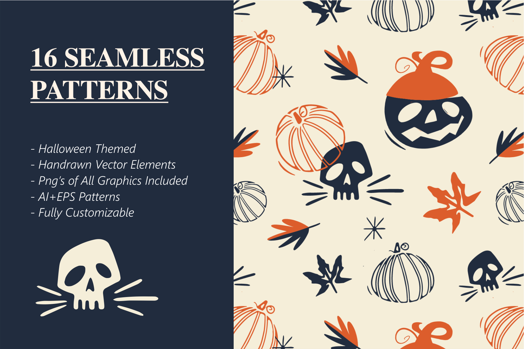 Halloween Rush Pattern Collection example image 3