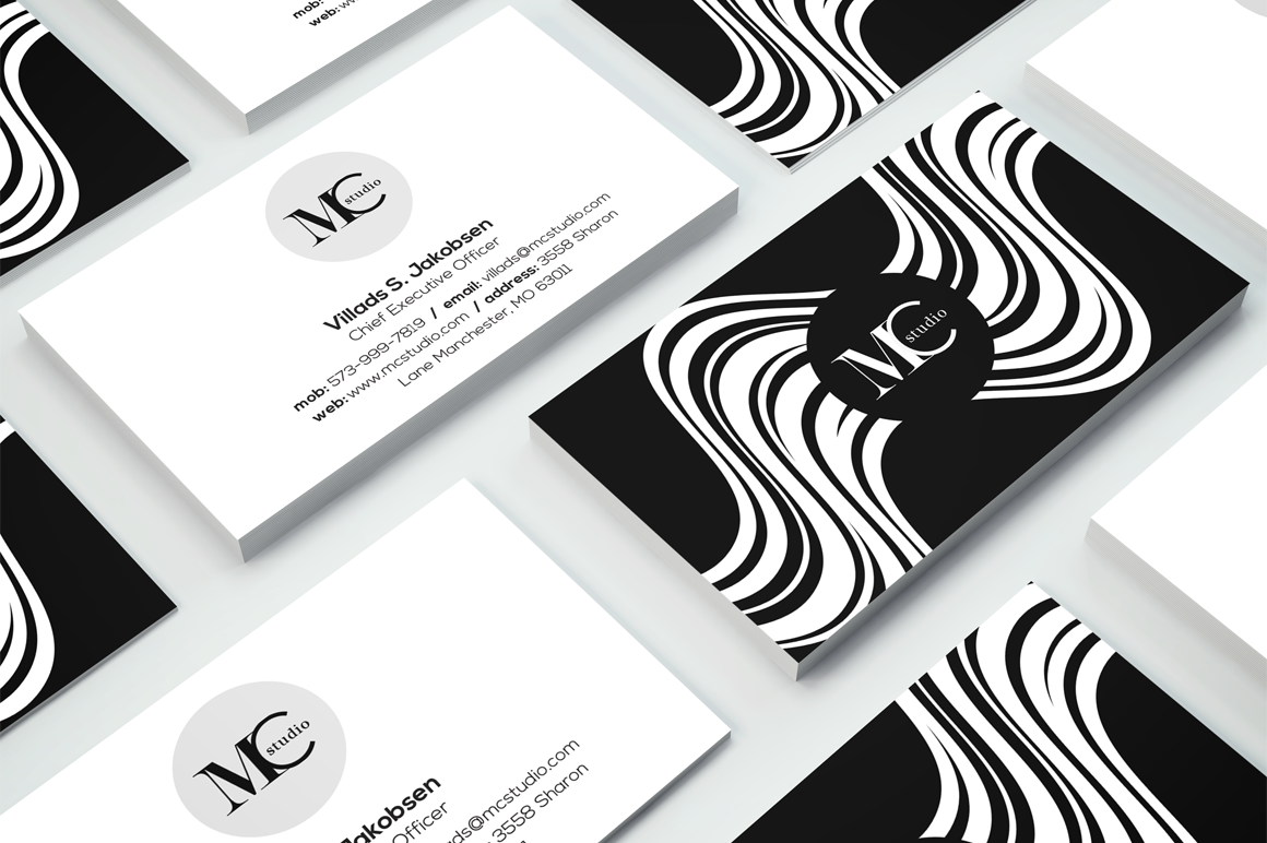 Creative Business Card 11 example image 1